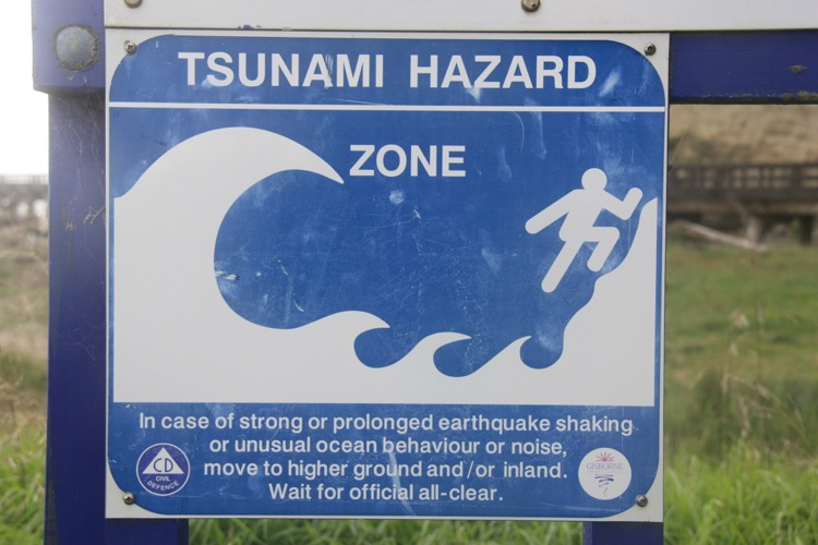 58GradNord - Tsunami und Erdbeben