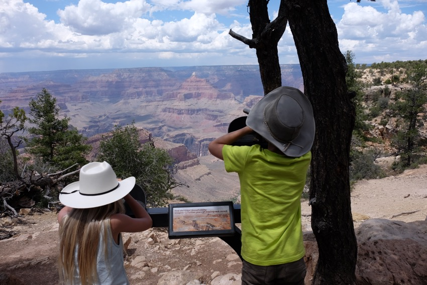 58GradNord - Grand Canyon South Rim