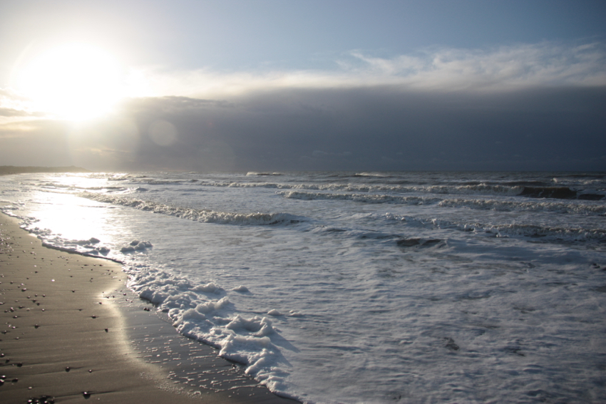 Dänemark im Herbst - Strand