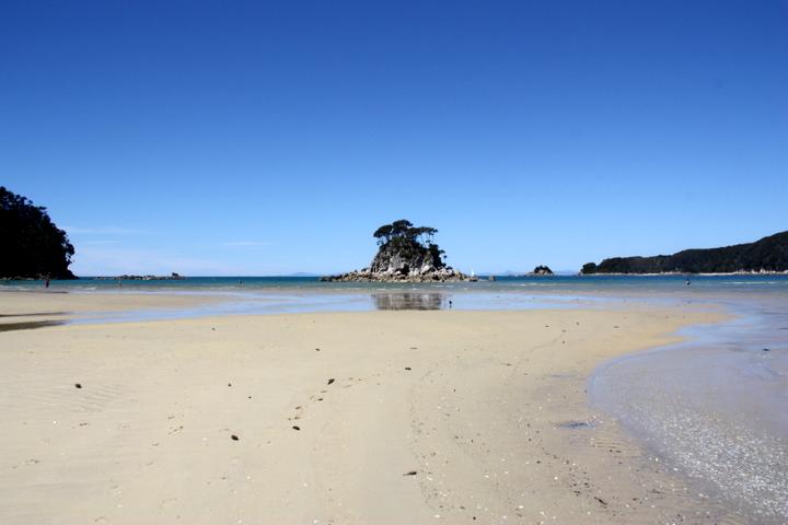 58GradNord - Elternzeit in Neuseeland - Abel Tasman Beach