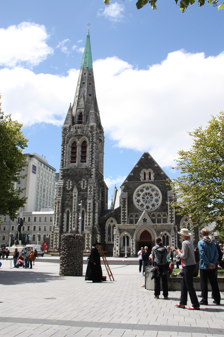 58GradNord - Elternzeit in Neuseeland - Christchurch Cathedral