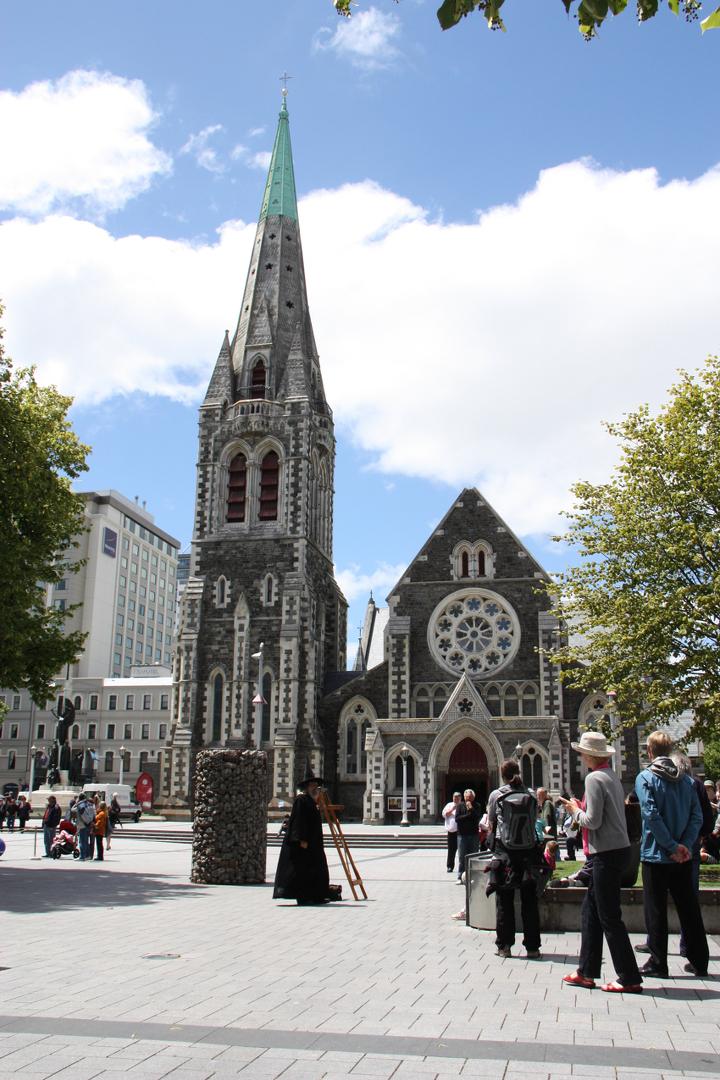 58GradNord - Elternzeit in Neuseeland - Christchurch Cathedral