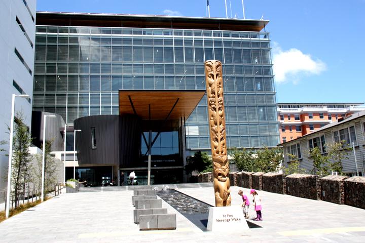 58GradNord - Elternzeit in Neuseeland - Kathedrale in Chirtchurch