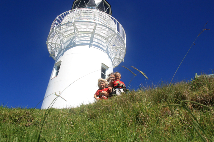 58GradNord - Elternzeit in Neuseeland - East Cape Lighthouse