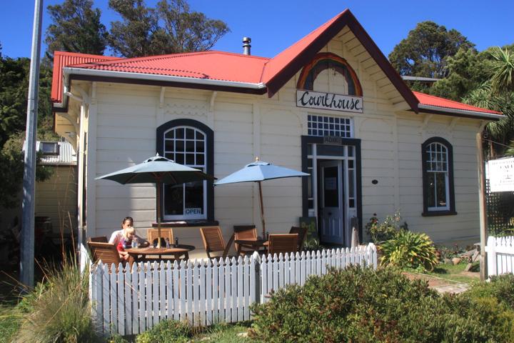 58GradNord - Elternzeit in Neuseeland - Café Golden Bay
