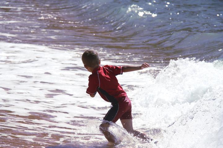 58GradNord - Elternzeit in Neuseeland - Totaranui Waves