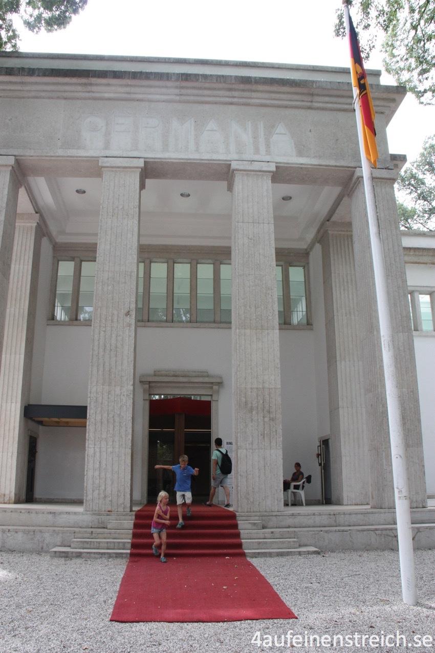 Der deutsche Pavillon