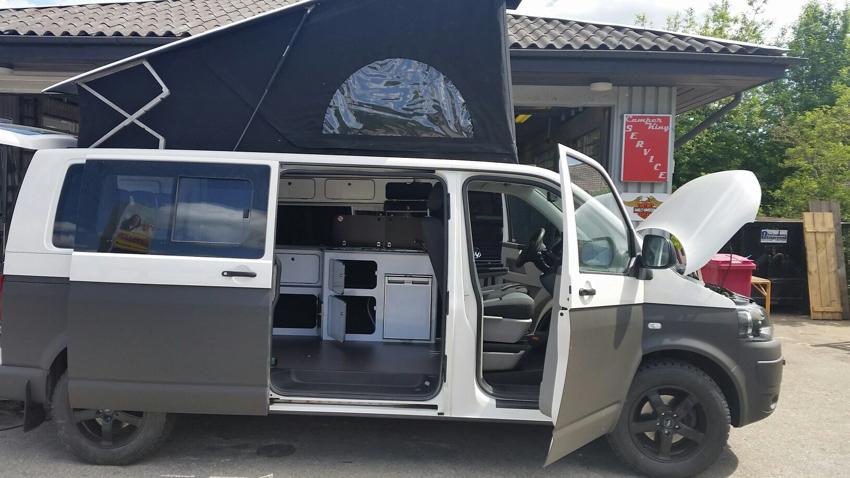 Unser VW Camper ist fast fertig!!