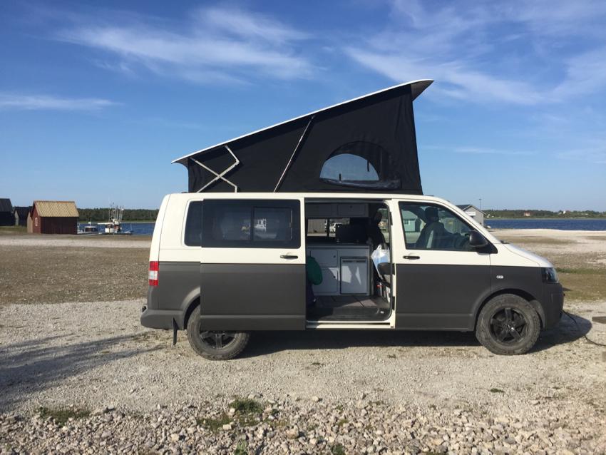 Mit dem VW Camper auf Gotland