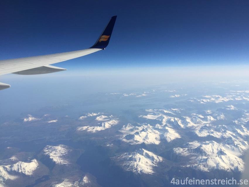 Sonnig über Norwegen!