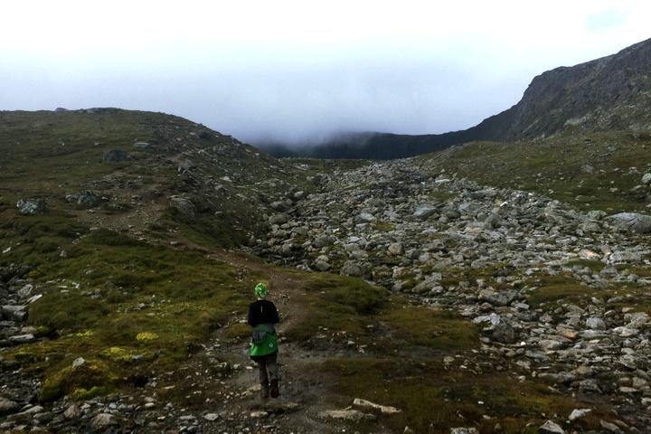 58 Grad Nord - Gipfelbesteigung mit Kind - Helags