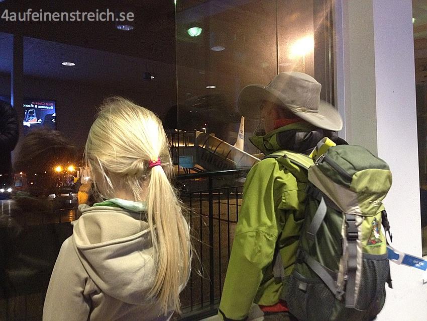 Abflug Schweden