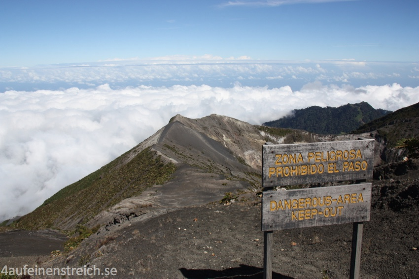 Gipfel Irazú