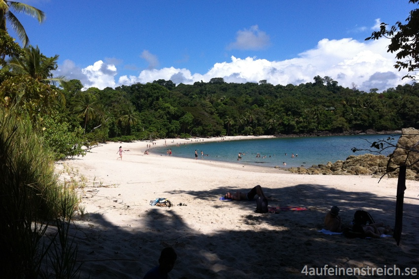 Strand im Manuel Antonio Nationalpark.