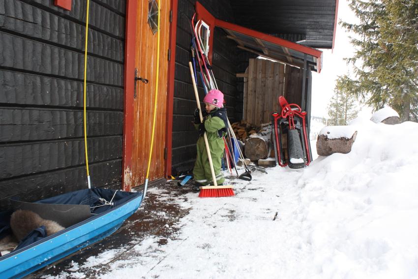 Blockhaus in Schweden Sälen