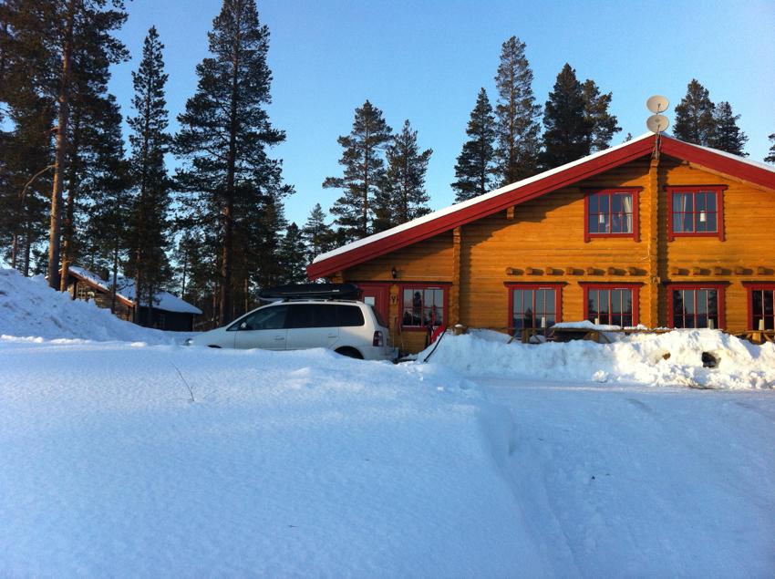 Blockhütte in Schweden Sälen