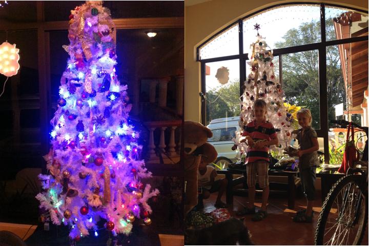 Weihnachten unterm Plastikbaum