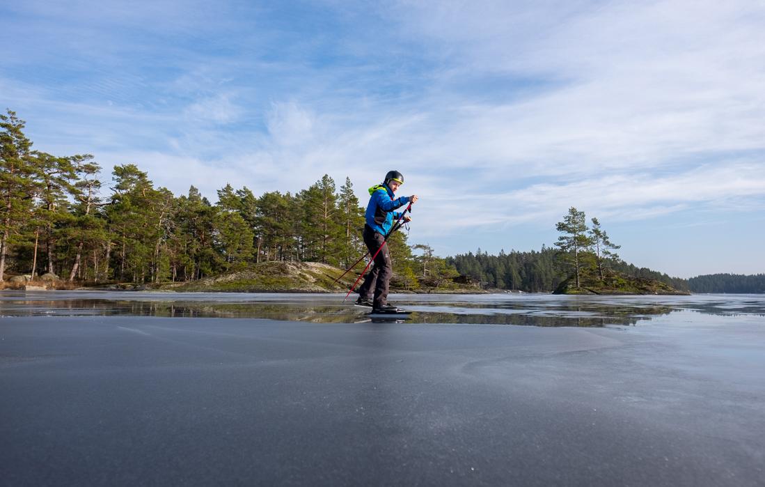 58GradNord Tiveden Nationalpark - långfärdsskridskor
