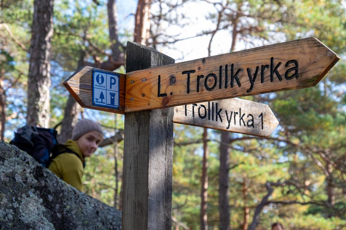 58GradNord Tiveden Nationalpark Lilla Trollkyrka