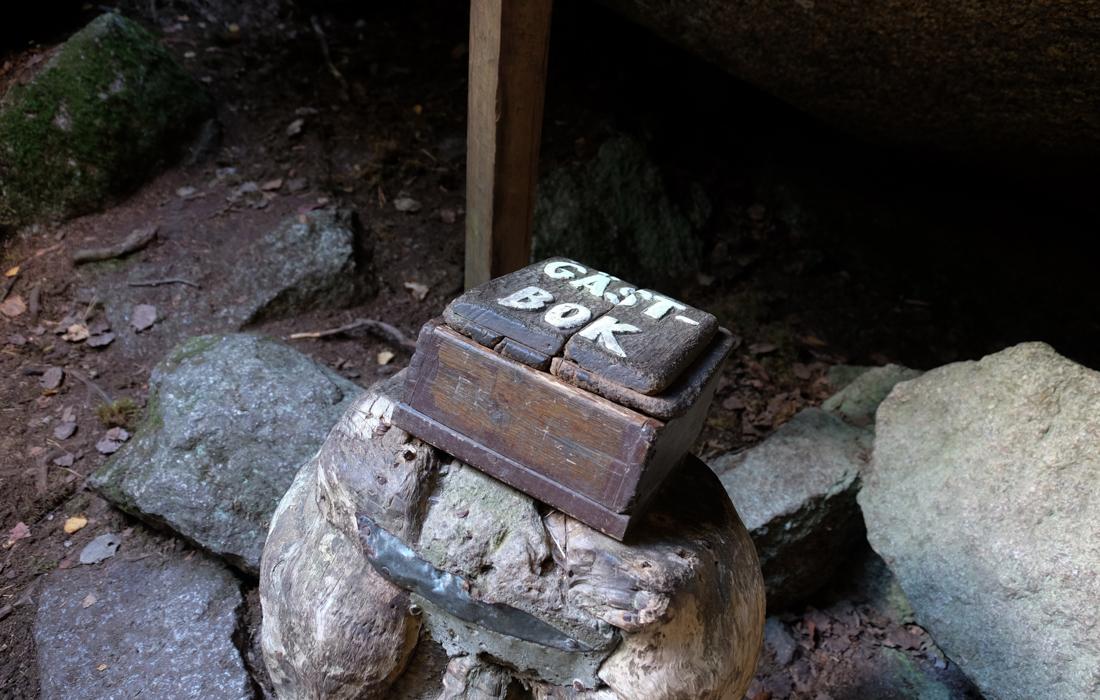 58GradNord Tiveden Nationalpark - 58GradNord Tiveden Nationalpark - 58GradNord Tiveden Nationalpark - stenkälla guest book