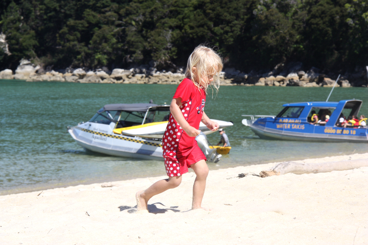 58GradNord Abel Tasman Mit Kindern wandern