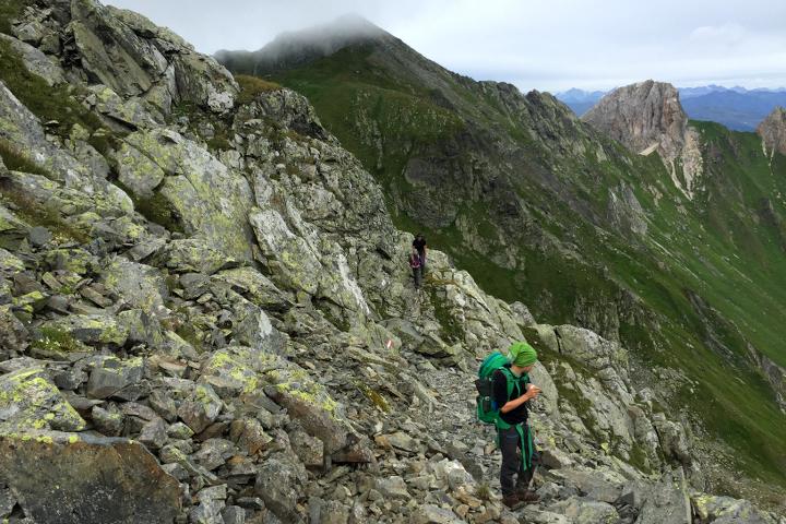58GradNord - Karnischer Höhenweg - Gratwanderung