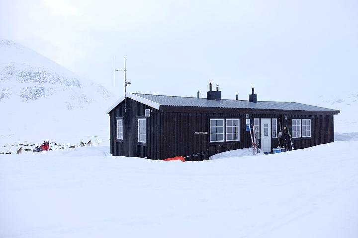 58 Grad Nord - Kungsleden im Winter - SIngistugorna