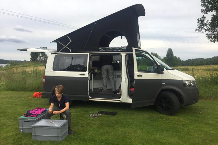 58 Grad Nord - Roadtrip Nordschweden - erster Campingplatz