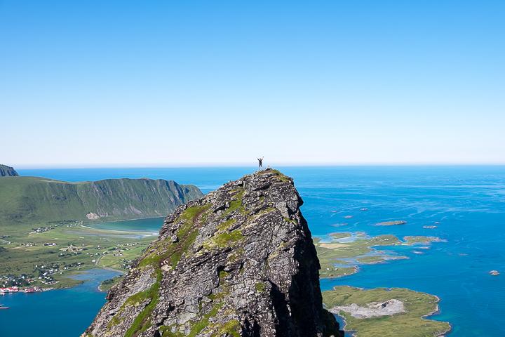 58GradNord - Mit Kindern wandern Nordnorwegen Lofoten - Volandstinden
