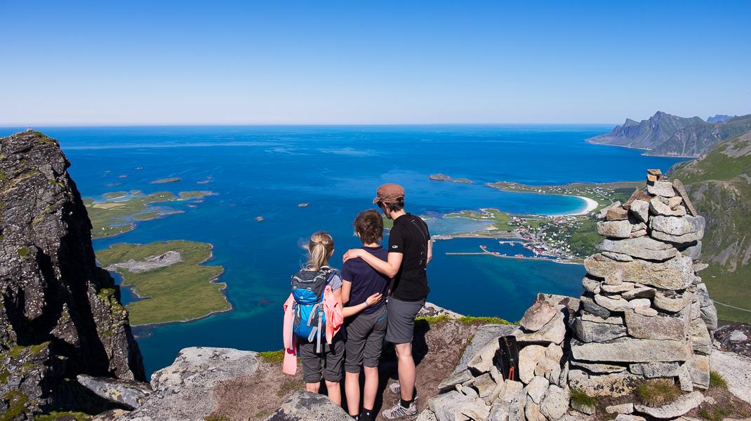 58GradNord - Mit Kindern wandern Nordnorwegen Lofoten - Titel