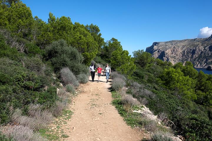 58 Grad Nord - Mallorca mit Kindern - Sa Dragonera - Mit Grosseltern wandern