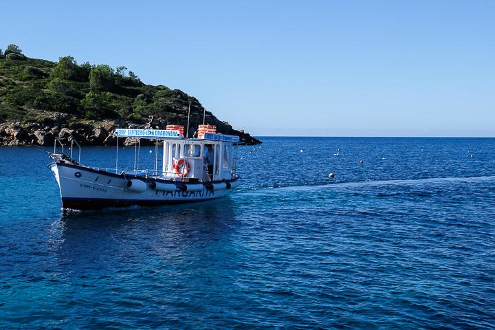 58 Grad Nord - Mallorca mit Kindern - Sa Dragonera - Taxiboot