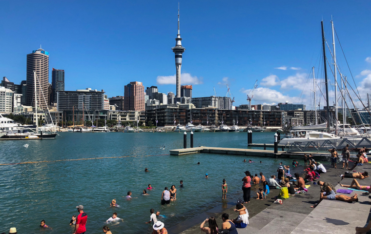 58 Grad Nord - Kiwi-Tagebuch - Downtown Auckland