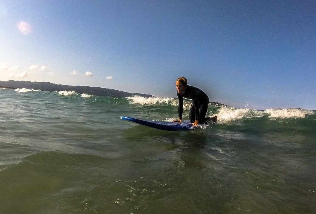 58 Grad Nord - Kiwi-Tagebuch - Surfen Omaha Beach