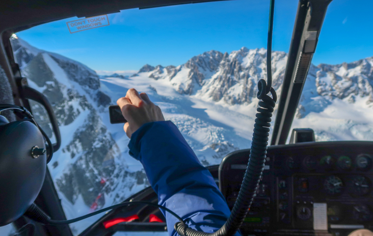 58 Grad Nord - Neuseeland im Herbst - Helikopterflug Mt Cook