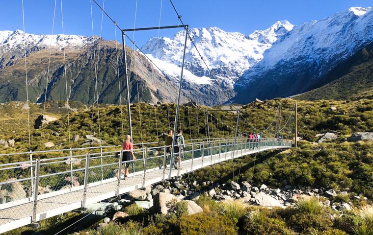 58 Grad Nord - Neuseeland im Herbst - Hooker Valley Track