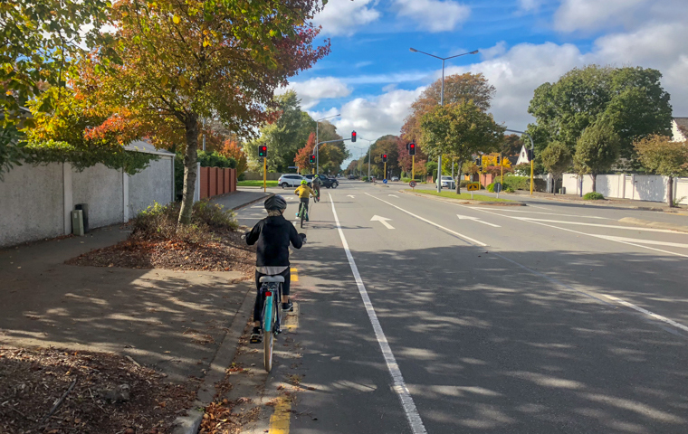 58 Grad Nord - Neuseeland im Herbst - Christchurch per Fahrrad