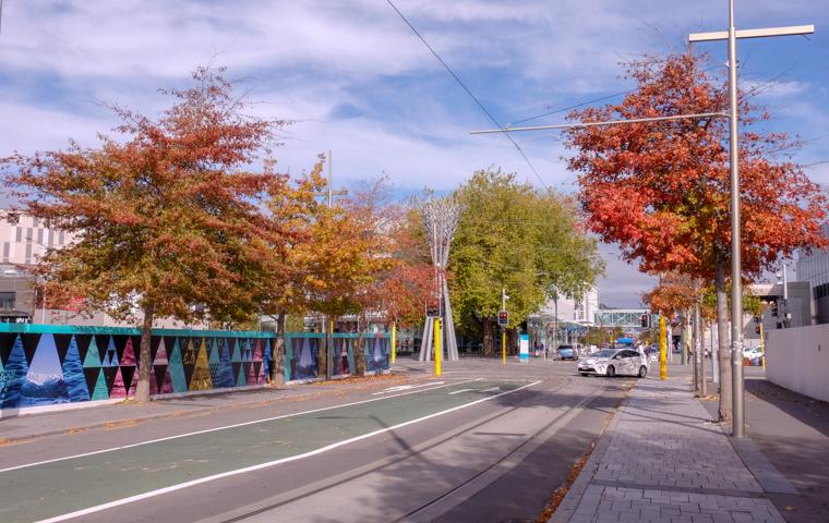 58 Grad Nord - Christchurch mit Kindern - Innercity Christchurch