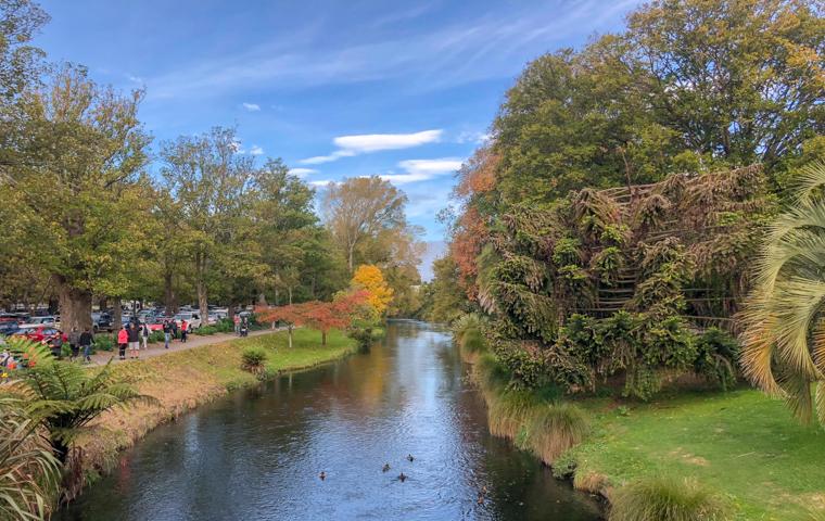58 Grad Nord - Christchurch mit Kindern - Avon River