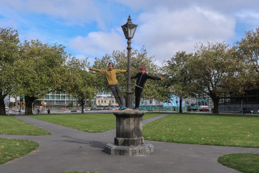 58 Grad Nord - Christchurch mit Kindern - Christchurch mit Kindern und Rad