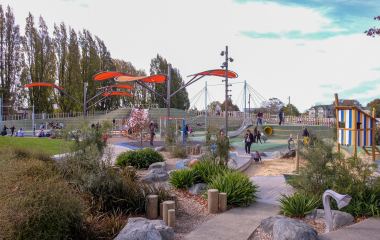 58 Grad Nord - Christchurch mit Kindern - Margaret Mathy Playground