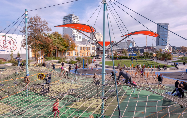 58 Grad Nord - Christchurch mit Kindern - Margaret Mathy Playground