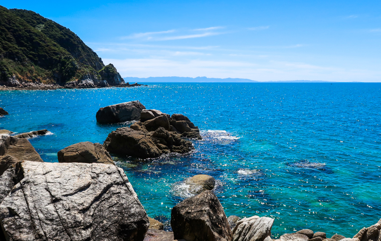 58 Grad Nord - Neuseeland - Golden & Tasman Bay - Abel Tasman Coast Track - Separation Point