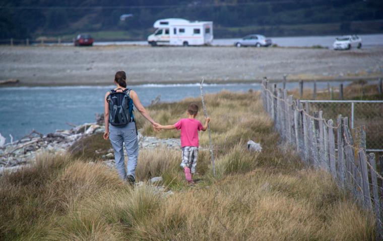 rad Nord - Neuseeland - Golden & Tasman Bay - Cable Bay