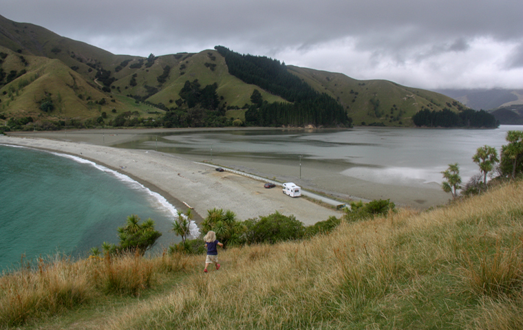 rad Nord - Neuseeland - Golden & Tasman Bay - Cable Bay