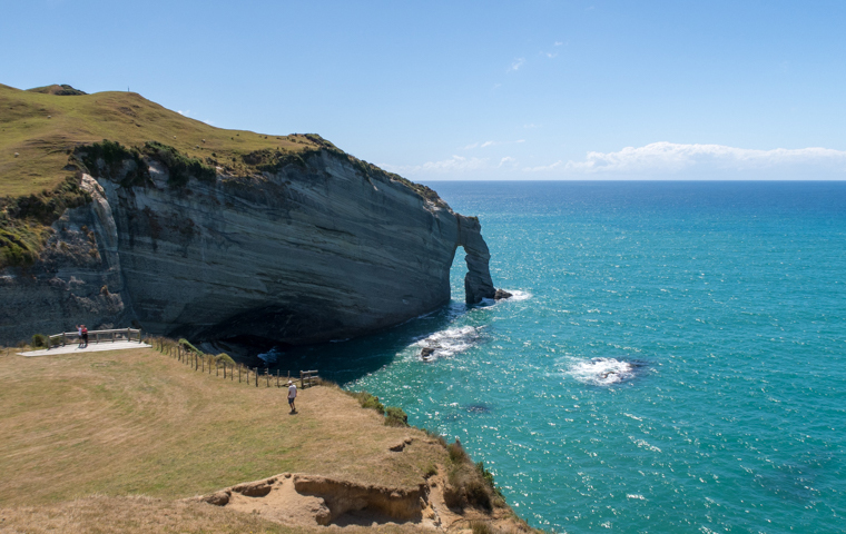 rad Nord - Neuseeland - Golden & Tasman Bay - Cape Farewell