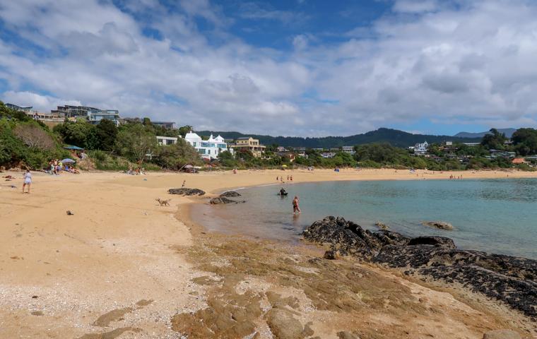 58 Grad Nord - Neuseeland - Tasman Bay - Little Kaiteriteri Beach