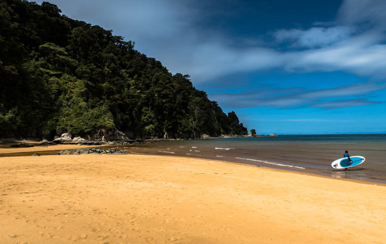 58 Grad Nord - Neuseeland - Golden & Tasman Bay - Abel Tasman Coast Track - Totaranui Beach