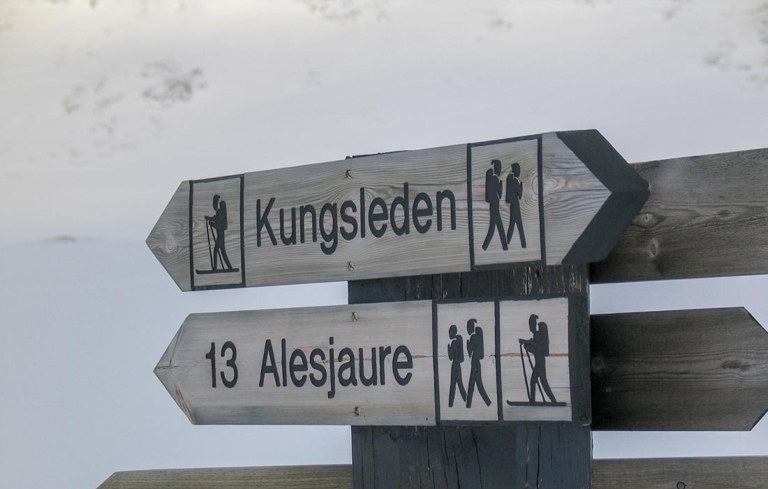 58 Grad Nord -Skiwandern mit Kindern in Lappland - Kungsleden
