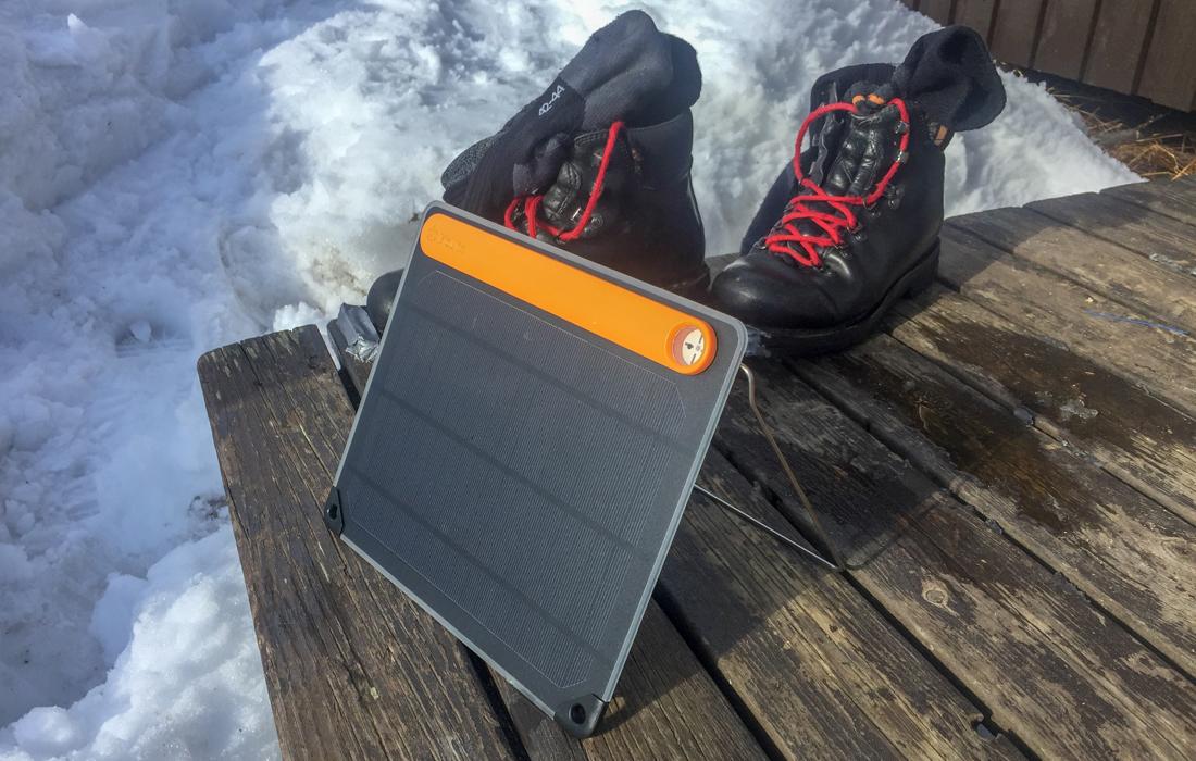 58 Grad Nord -Skiwandern mit Kindern in Lappland - Kungsleden - Solar für unterwegs